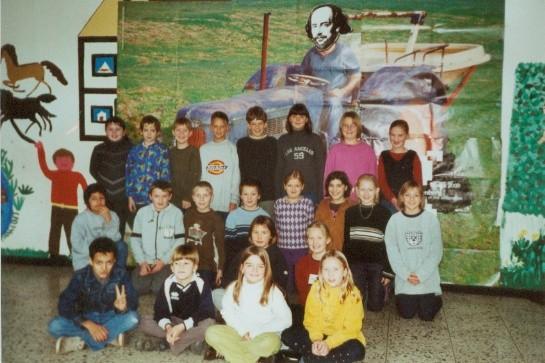 Abgänger 2002 (Gutenberg) - Klassenlehrerin Frau Fricke