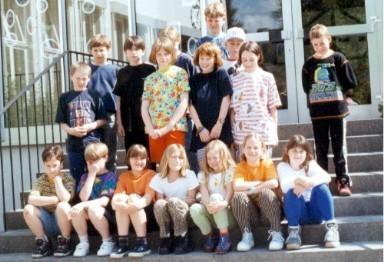 Abgänger 1998 (Gutenberg) - Klassenlehrerin Frau Fricke