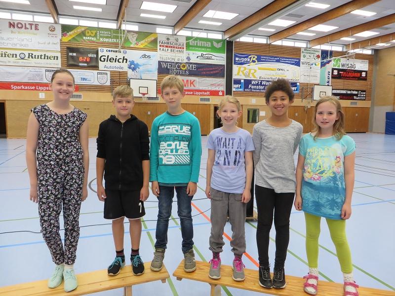 ... unserer Lioba-Schwimmstaffel zu einem 1. Platz bei den Stadtmeisterschaften