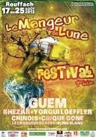 """""""Contes de mon pantalon"""" au """"Mangeur de Lune"""", festival des musiques du monde à Rouffach (aout 2013)"""