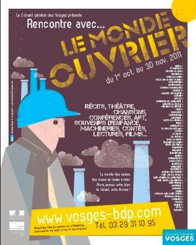 """""""La Danse des Parapluies"""" à """"Rencontre avec… """" du département des Vosges, en Octobre 2011"""