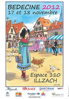 Contes japonais au festival Bédéciné, Espace 110 à Illzach (nov. 2012)
