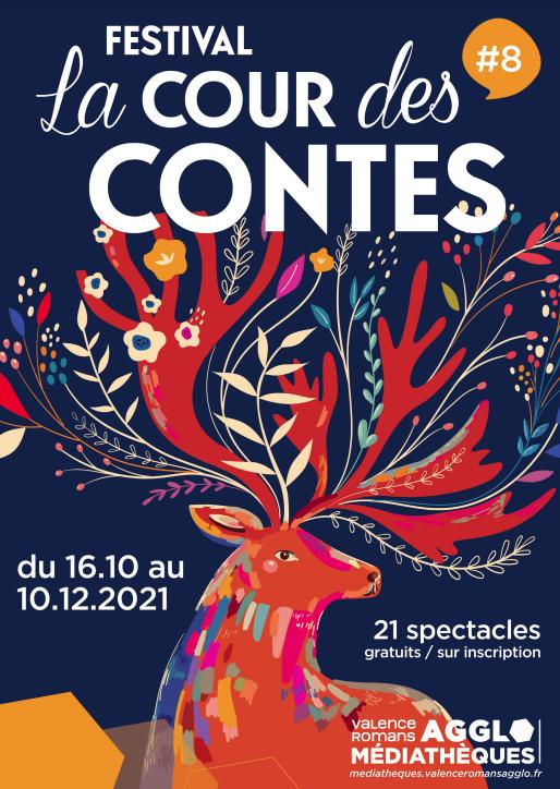 """Participation au Festival """"La Cour des Contes (26)"""