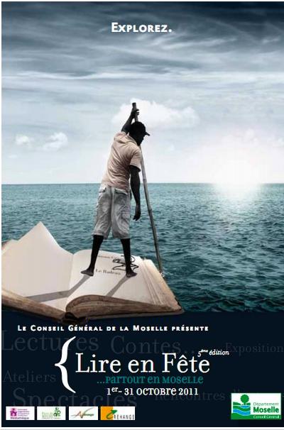 """Duo """"Contes à la Noix"""" à l'événement « Lire en Fête » de la Moselle (Octobre 2011)"""