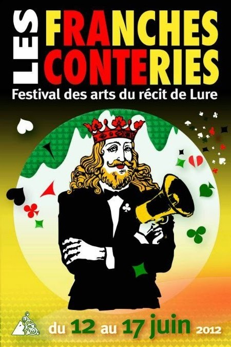 """""""limites de discrétion"""", """"La soupe au Macadam"""" et """"Petits contes Amoureux"""" au festival des Franches Conteries à Lure (juin 2012)"""