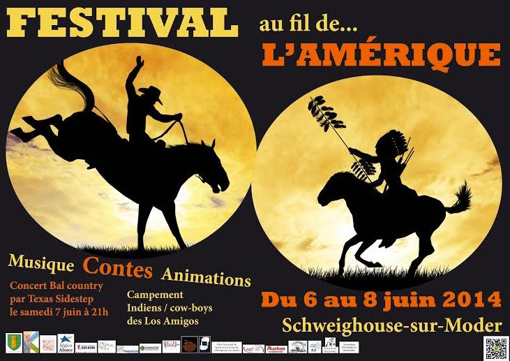 """""""La Chasse au Squonk"""" au festival """"Au fil de... l'Amérique"""" de Schweighouse sur Moder (juin 2014)"""