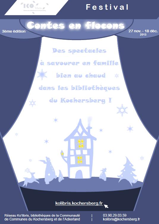 """Balade contée à Kuttolsheim dans le cadre de """"Contes en Flocons"""" (décembre 2013)"""