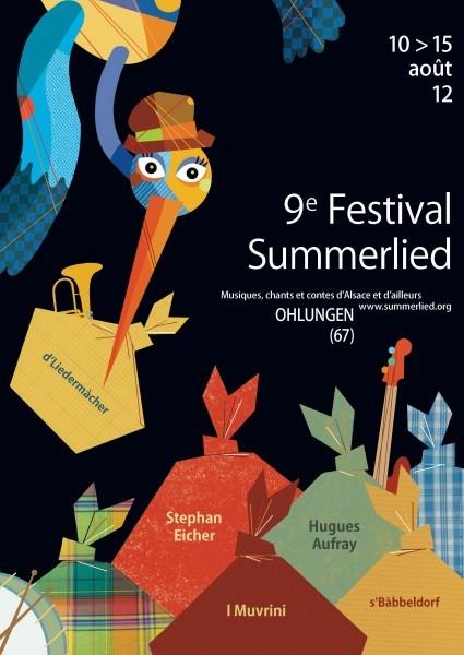 """Duo """"Contes à la Noix"""" et """"Petits contes amoureux"""" au Festival Summerlied (aout 2012)"""