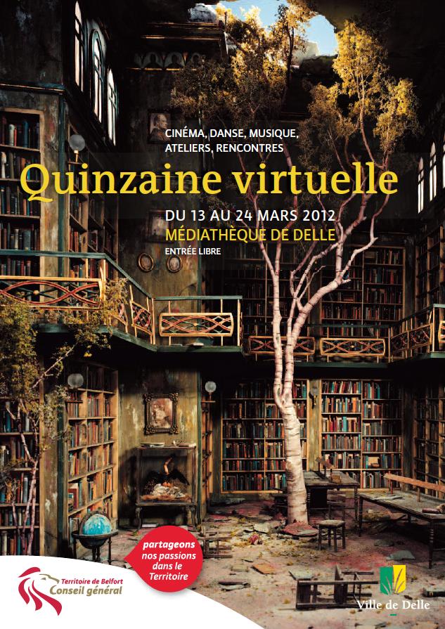 """""""Avat@rs, Contes multimédias"""", à la """"Quinzaine numérique"""" de Delle (mars 2012)"""