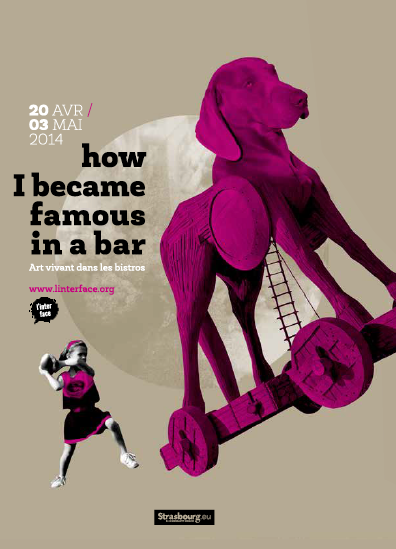 "Extrait de ""limites de discrétion"" à ""How I Became Famous In a Bar"", art vivant dans les bars à Strasbourg (avril 2014)"