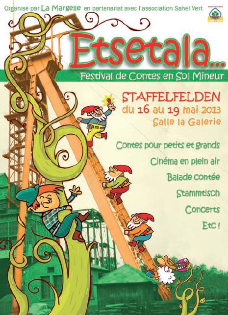 """""""La Chasse au Squonk"""" à """"Etsetala"""", festival de contes en sol mineur (mai 2013)"""