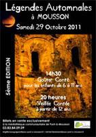 """Extrait de """"limites de discrétion"""" aux """"Légendes Automnales"""" de Pont-à-Mousson (Nov. 2011)"""