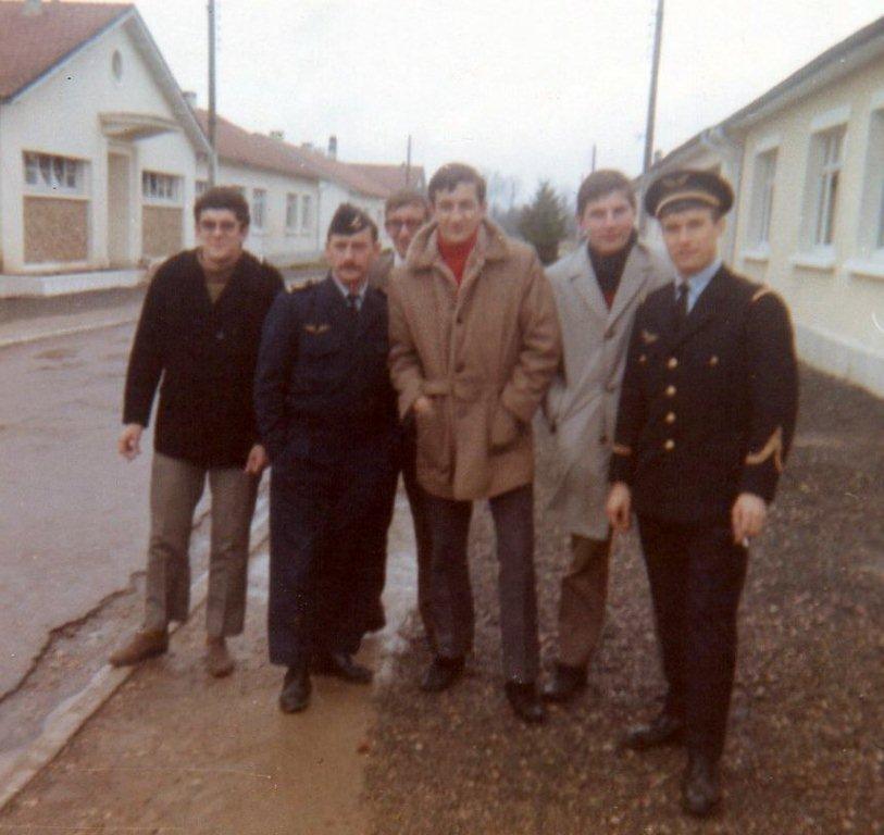 1969 visite aux anciens Adj Blaison et Sgc Letoqueu par Boillot Badet Bodin Copchinski