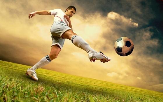 Fussball auf Naturrasen