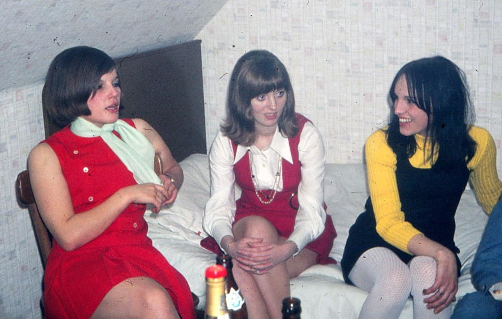 Worms / Rosengarten 1968 - Fans aus Krefeld