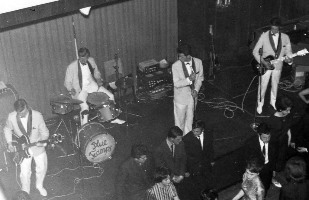 1963 Gewerbesaal Mödling - Cliff, Herbert, Gernot, Gustl