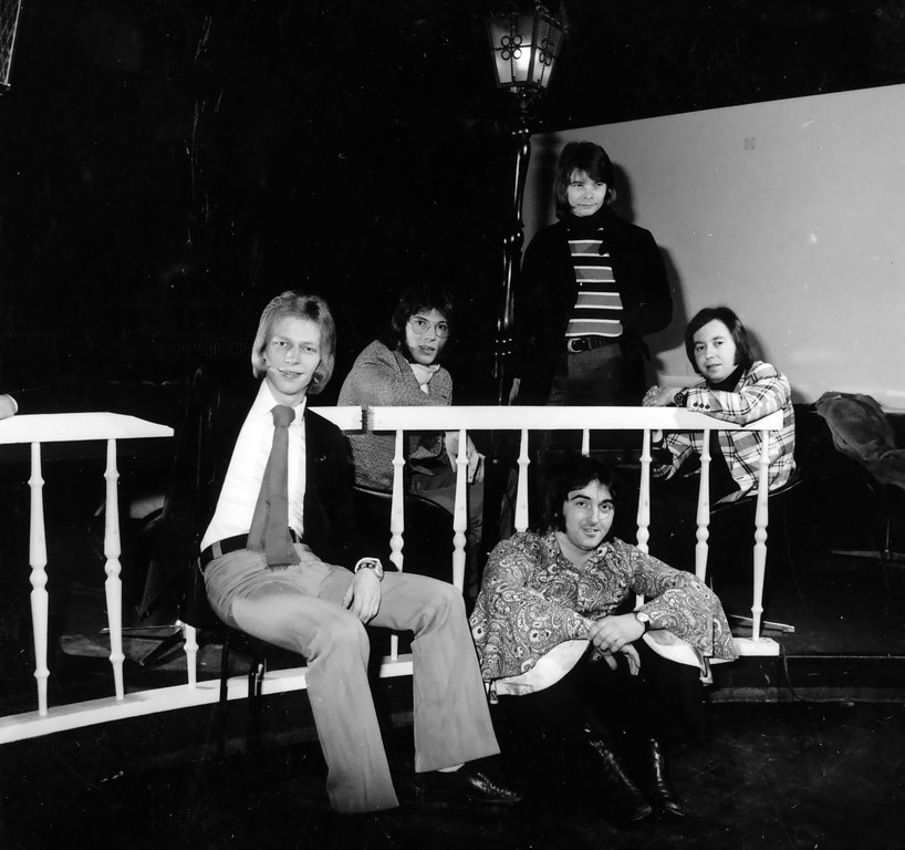 1971 Michael, Jean, Gustl, Karl, Cliff