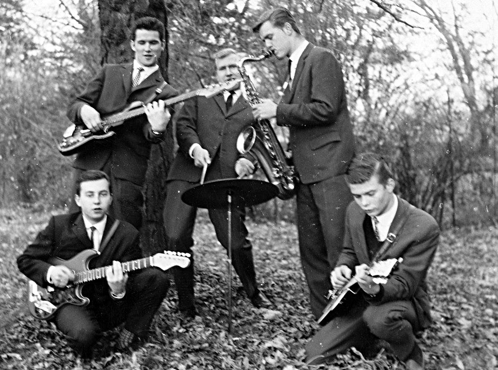 1962 Cliff, Gernot, Herbert, Friedl, Gustl