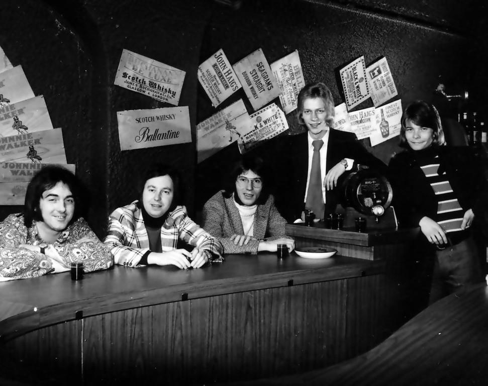 1971 Karl, Cliff, Jean, Michael, Gustl