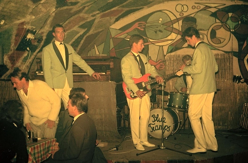 Baden-Jazzkeller 1961 Erich, Peter, Herbert, Gernot