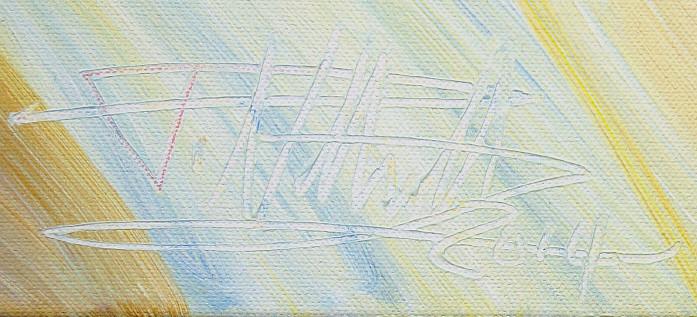 Signatur des Künstlers