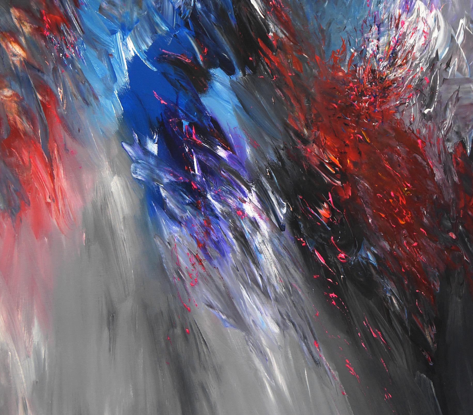 blue day l1 sold abstrakte gem lde moderne malerei online kaufen. Black Bedroom Furniture Sets. Home Design Ideas