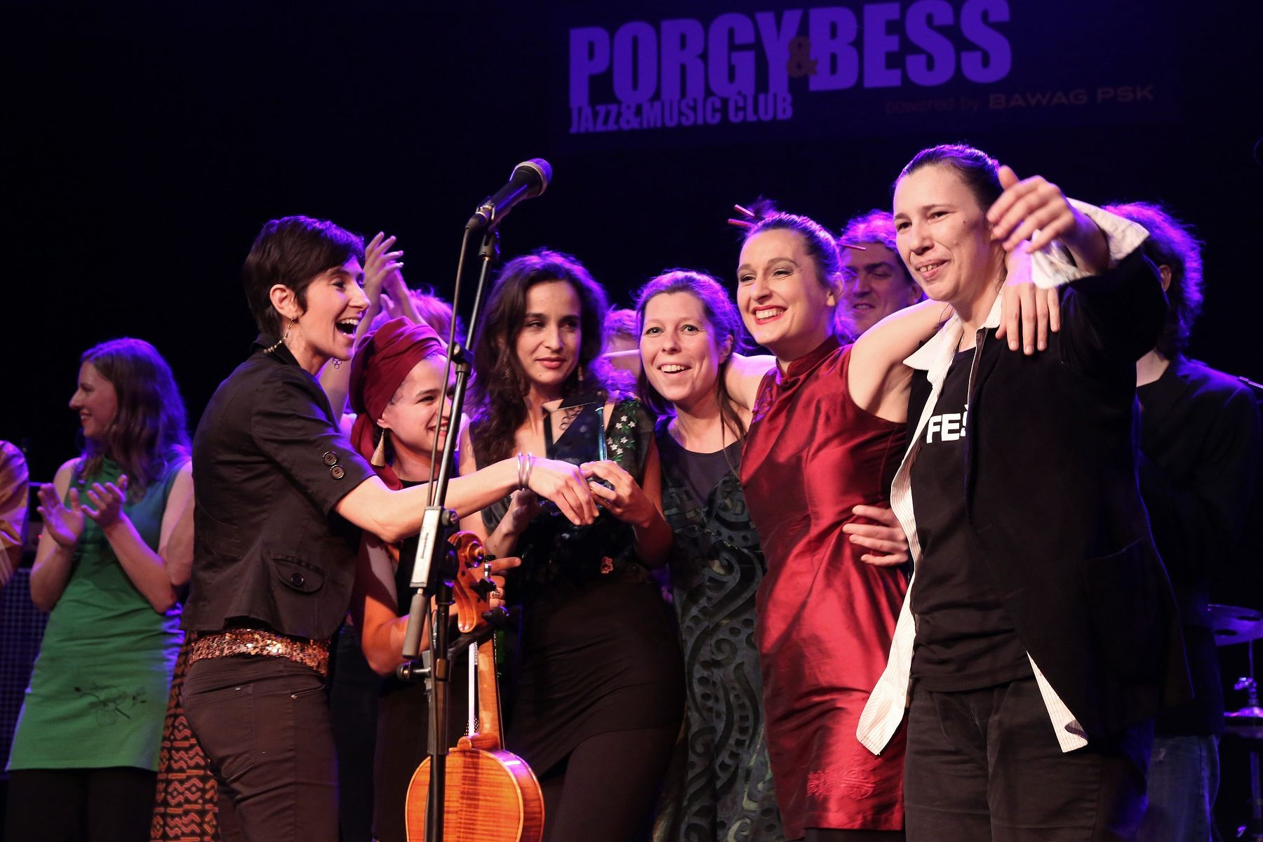Madame Baheux – Austrian World Music Awards 2014 (Foto: Manfred Werner)