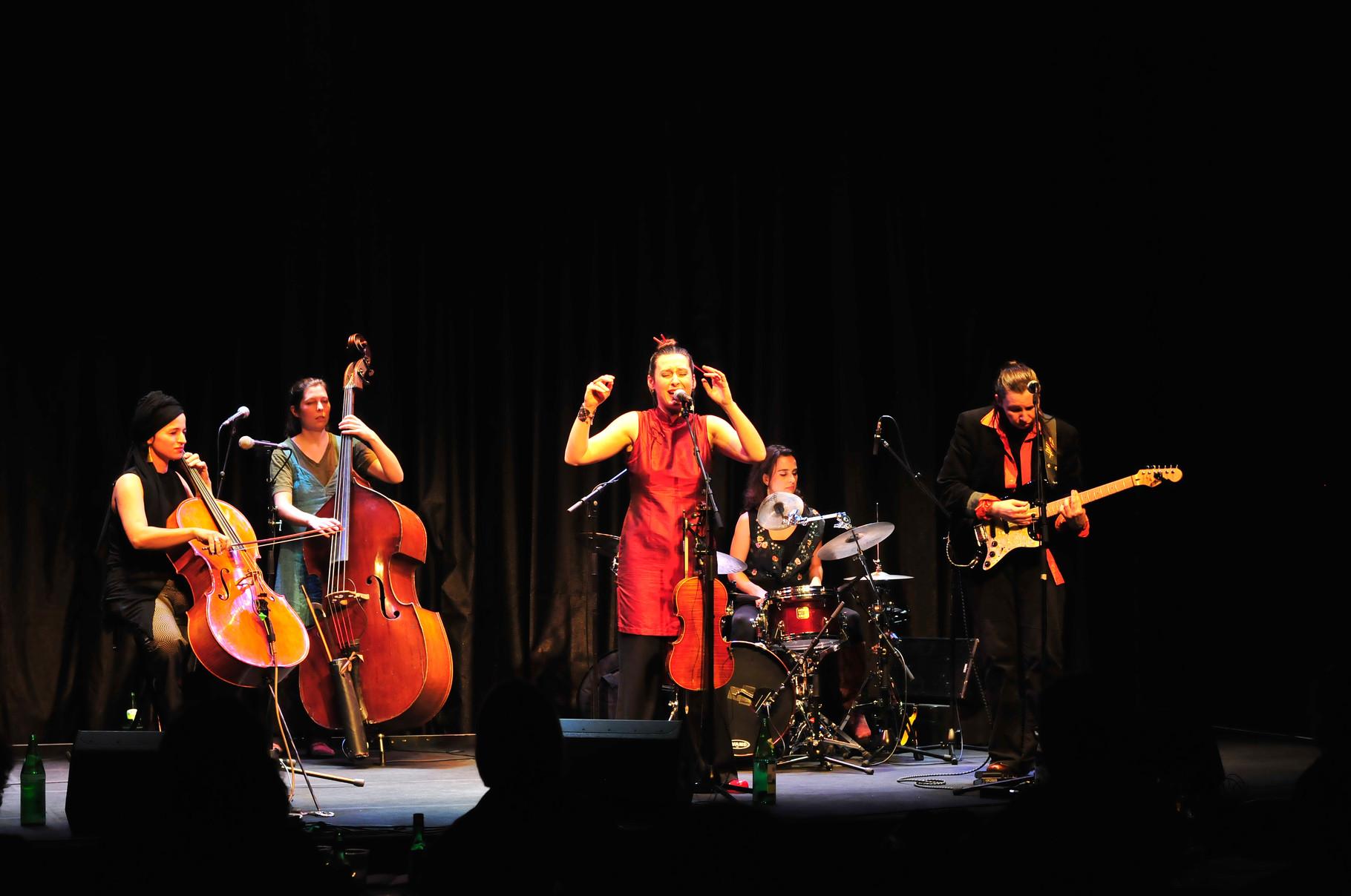 Madame Baheux @ Nestroyhof Theater, Vienna (Foto: Nick Mangafas)