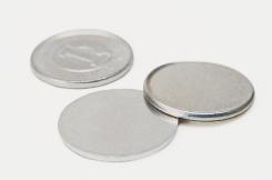 1円玉のもととなる円形の画像