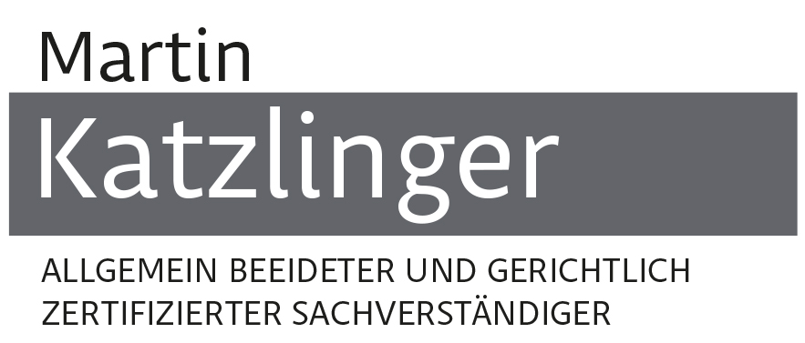 Martin Katzlinger - Sachverständiger - Grafikstudio Raster und Punkt - Johannes Loibenböck