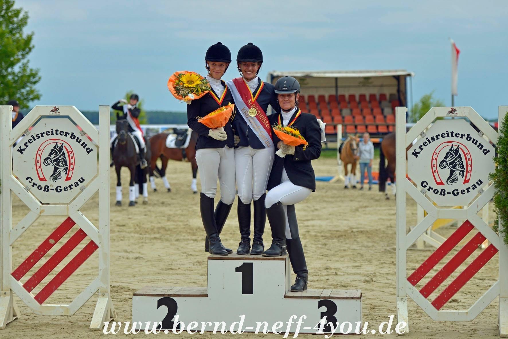 Miriam Laun und Michaela Sterlike Kreismeisterschaft LK4