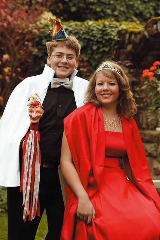 6. Landauer Kinderprinzenpaar - Josephine I. und Sebastian I.