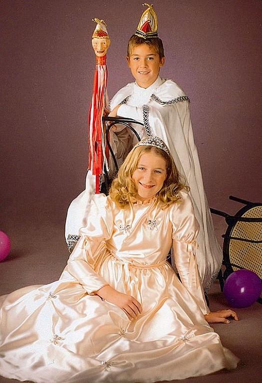 4. Landauer Kinderprinzenpaar - Clarissa I. und Marco I.