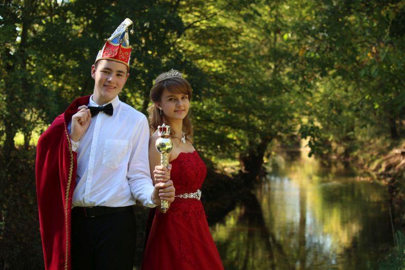 18. Landauer Kinderprinzenpaar - Alina I. und David II.