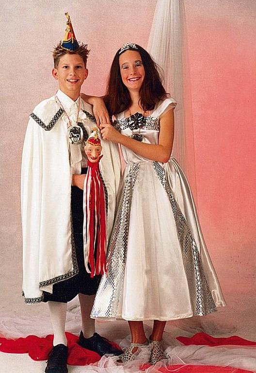 2. Landauer Kinderprinzenpaar - Laura I. und Tobias I.