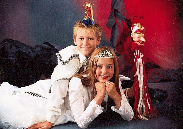 3. Landauer Kinderprinzenpaar - Katharina I. und Yannick I.
