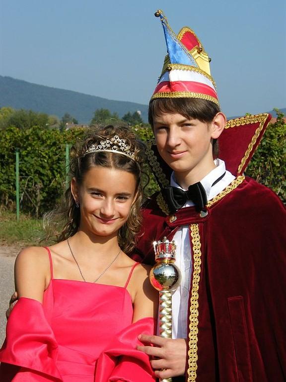10. Landauer Kinderprinzenpaar - Sarah I. und Evan I.