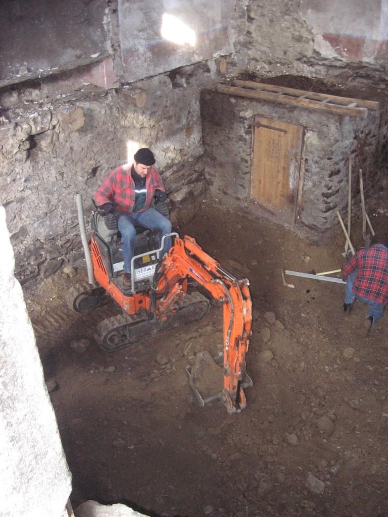 Démarrage en 2008 début dans la cave