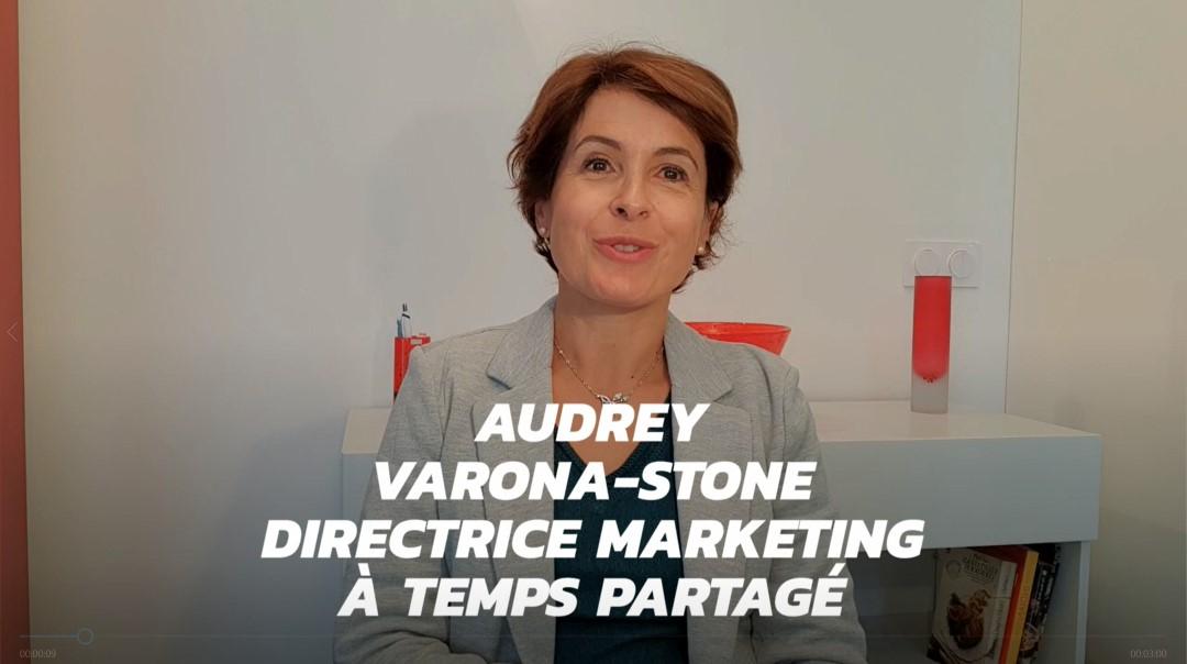 Interview de Audrey Varona-Stone, directrice marketing à temps partagé et fondatrice de Flexter