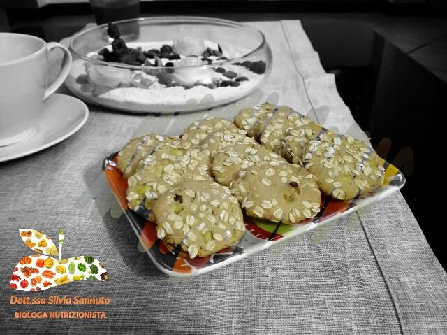 Cookies di avena e ananas