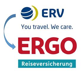 Aus der ERV wird die ERGO Reiseversicherung