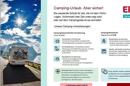 Neuer PDF-Flyer für Urlaub auf dem Campingplatz