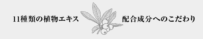 エクシートスキンクリームは国産11種類の植物エキス配合