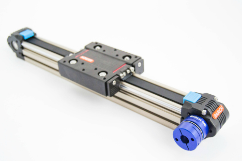 toothed belt linear guide