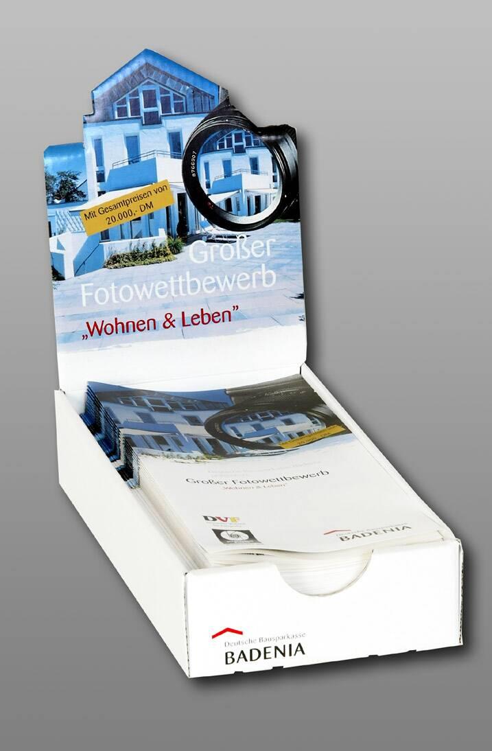 Thekendispenser für DIN A4 Broschüren