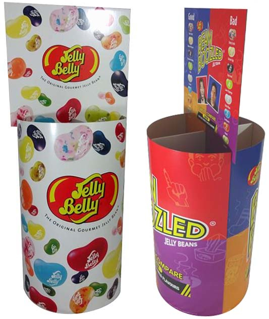 "Bodendisplay ""Jelly Belly"""