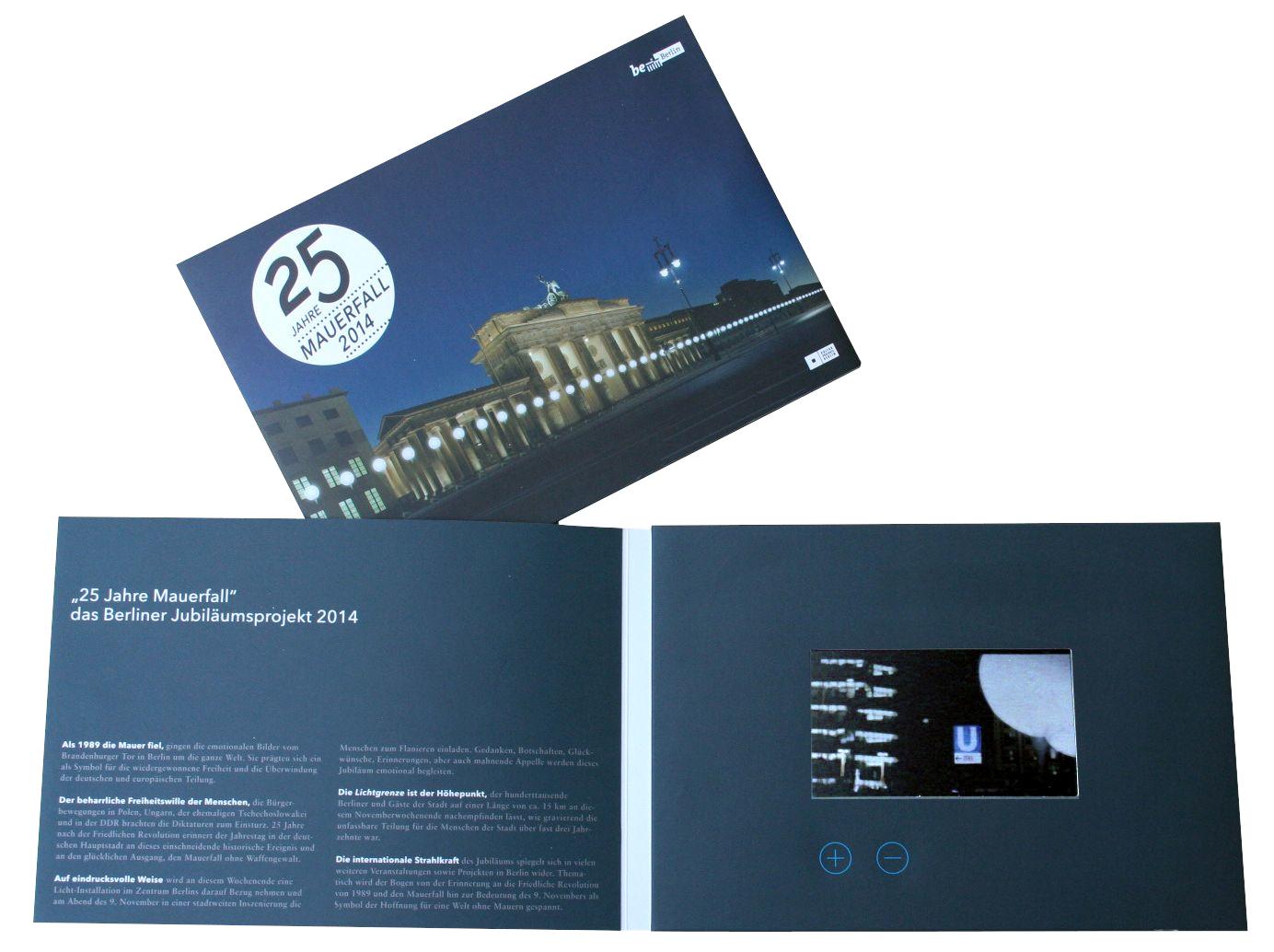 Video-Card 25 Jahre Mauerfall