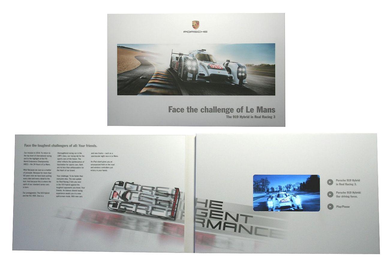 Video-Card Porsche