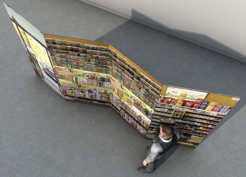 Ruckzuck-Wand 4000x2200