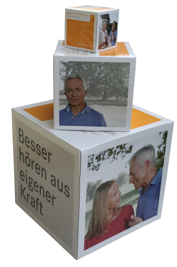 Dekowürfel, Sitzhocker